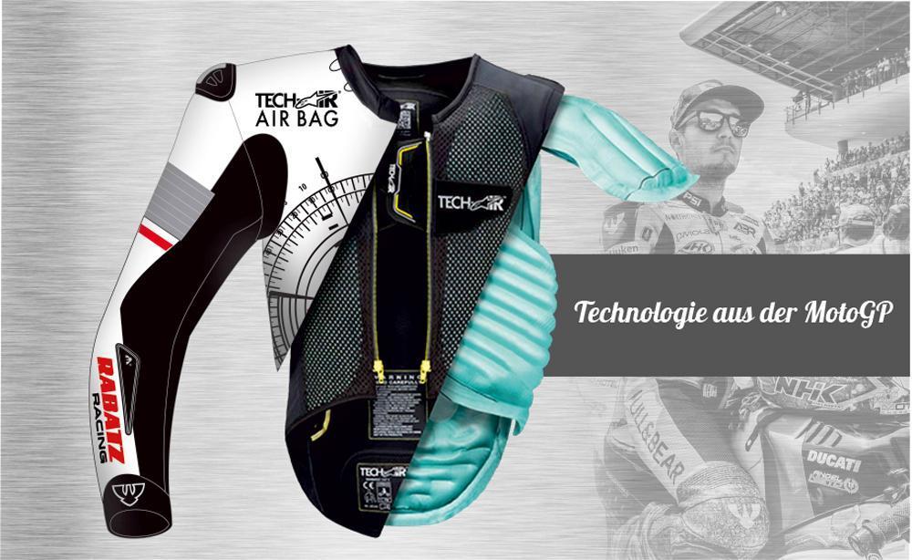 Biker - Airbags und maßgeschneidertes Leder